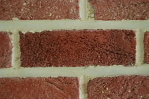 One_brick_among_6_other_bricks,_held_together_with_mortar