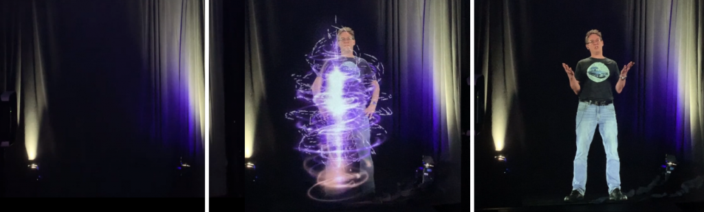 Being a Hologram Teacher